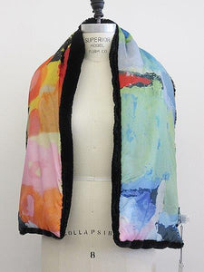 In the City Reversible Faux Fur Scarf