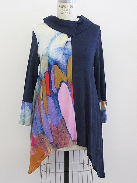 Clusters of Conversation Asymmetric Tunic