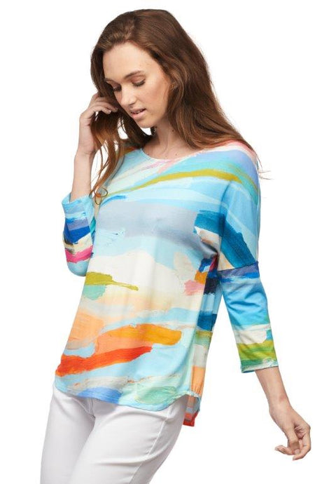 Fresh Air 3/4 Sleeve Top
