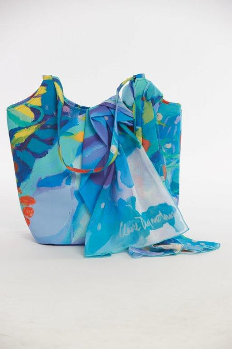 Loving the Land Tote Handbag and Scarf set