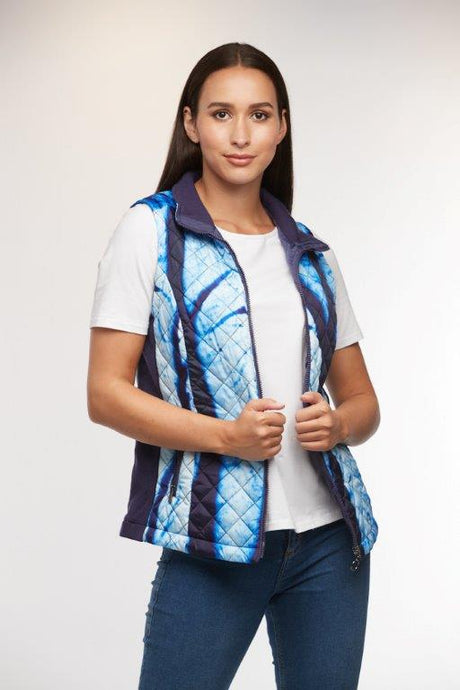The Forest Tells a Story Quilted Vest