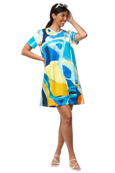Jellyfish Head A-line Dress