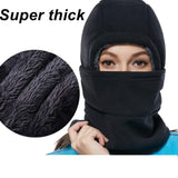 Super Thick Adjustable Lightweight Soft Balaclava Scarf Winter Windproof Ski Face Mask for Men/Women/Kids,Cold Weather Fleece Hat/Hood Neck Warmer for Skiing Cycling Motorcycle Outdoor Sport
