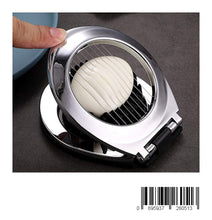 Load image into Gallery viewer, Egg Cutter, Stainless Steel Wire Egg Slicer, A Great Egg Cutter For Hard Boiled Eggs
