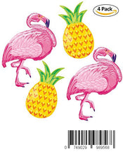 Load image into Gallery viewer, 40inch 4Pack Beach Summer Tropical Party Theme Flamingo and Pineapple balloons For Children Birthday Party Decorations Flamingo Party Supplies Hawaiian Luau Party Table Decorations Flamingo Party Deor