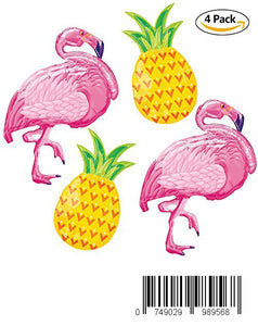 40inch 4Pack Beach Summer Tropical Party Theme Flamingo and Pineapple balloons For Children Birthday Party Decorations Flamingo Party Supplies Hawaiian Luau Party Table Decorations Flamingo Party Deor