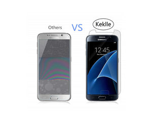 Keklle 9H Tempered Glass Screen Protector for Samsung Galaxy S7 – 2 Pack