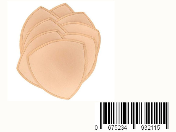 Bra Pad Inserts, Bra Pads Sewed Stitched Removable for Women