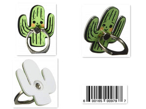 PRA Universal Cutie Cactus 360˚ Cellphone Ring Holder