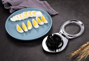Egg Cutter, Stainless Steel Wire Egg Slicer, A Great Egg Cutter For Hard Boiled Eggs