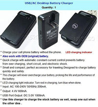 Load image into Gallery viewer, LG G5 Battery Charger, Keklle USB Wall Travel Spare Battery Charger for LG G5 Battery(LG G5 Wall Charger)