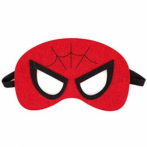 Keklle Superheroes Party Masks.28 Piece Felt Mask Birthday Party Supplies Cosplay Toy For Children/Kids/Adults