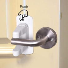 Load image into Gallery viewer, Keklle Door Lever Lock (2 Pack), Child Proof Lever Door Handle, Child Proof Doors & Handles 3M Adhesive - Door Lever Handle Baby Proof Child Lock Kids Safety