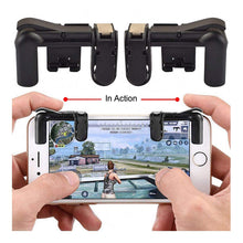 Load image into Gallery viewer, Mobile Game Controller Joystick Attachment for Android and iPhone Devices – Sensitive Shoot and Aim Triggers – PUBG, Knives Out, Rules of Survival Gamepad for Cell Phones – 1 Pair