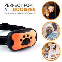 Load image into Gallery viewer, Keklle Bark Collar - Humane Anti Bark Dog Collar Most Effective w Upgraded Chip - No Shock - 7 Adjustable Sensitivity Levels to Accommodate Your Dog's Breed - Bark Control for Small Medium Large Dogs