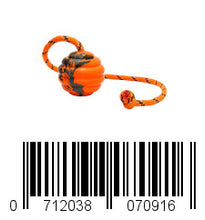 Load image into Gallery viewer, Keklle Durable Natural Rubber Ball on a Rope - Perfect Dog Training, Exercise and Reward Tool - Medium Size Dog Toy for Fetch, Catch, Throw and Tug War Plays – Happy Playtime Guaranteed