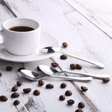 Espresso Spoon, Keklle Coffee Spoon Stainless Steel Demitasse Spoon Tiny Sugar Spoon Set of 6
