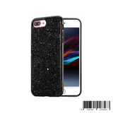 Keklle iPhone 7 Plus / 8 Plus Case,Crystal Sequins Design Bling Glitter Sparkle Dual Layer Hard PC Protective Cover Case for iPhone 7 Plus/iPhone 8 Plus,Black