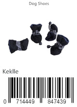 Load image into Gallery viewer, Keklle Dog Boots Soft Pet Paw Protector Anti-Slip Dog Shoes for Small to Large Dogs S to XL All Seasons Pet Booties