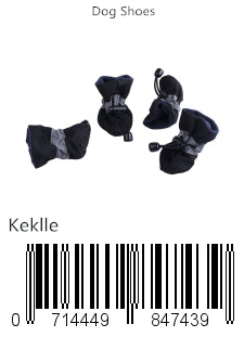 Keklle Dog Boots Soft Pet Paw Protector Anti-Slip Dog Shoes for Small to Large Dogs S to XL All Seasons Pet Booties