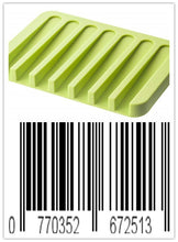 Load image into Gallery viewer, Keklle Flow Silicone Soap Tray, Green