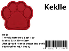 Load image into Gallery viewer, Dogs - The Ultimate Dog Bath Toy - Makes Bath Time Easy, Just Spread Peanut Butter and Stick - Featured on USA Today