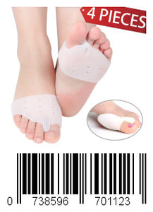Keklle Bunion Corrector for Women & Man Bunion Relief Brace Pads for Foot Pain Relief (4 Pieces)