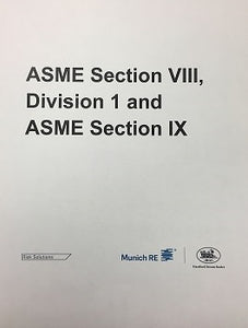 ASME Section VIII, Division I and IX  - Bloomington, MN - July 16-18, 2019