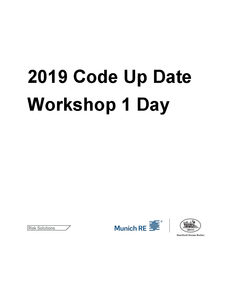 2019 Code Up Date Workshop 1 Day - September 30 Dubai