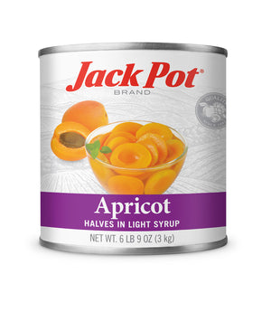 APRICOT HALVES IN LIGHT SYRUP