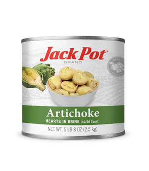 ARTICHOKE HEARTS IN BRINE (40/50 COUNT)