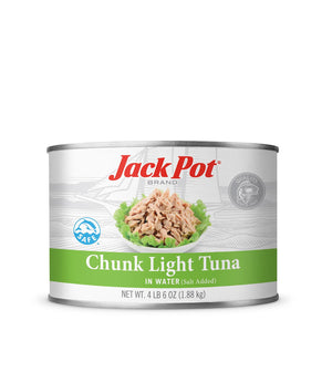 CHUNK LIGHT TUNA IN WATER (SALT ADDED)