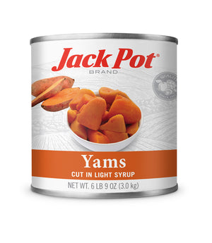 YAMS CUT IN LIGHT SYRUP