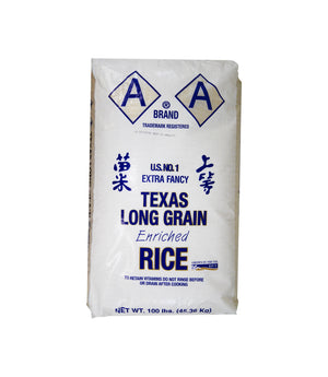 LONG GRAIN RICE, TEXAS