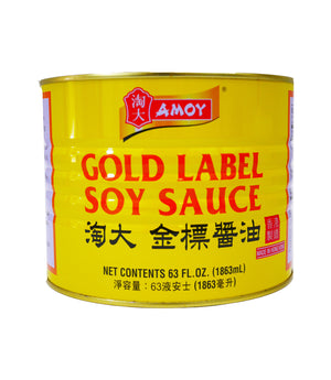 SOY SAUCE, GOLD LABEL