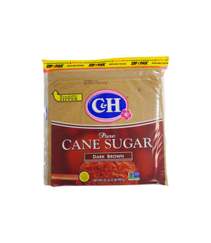 PURE CANE SUGAR, DARK BROWN, 16/2 LB