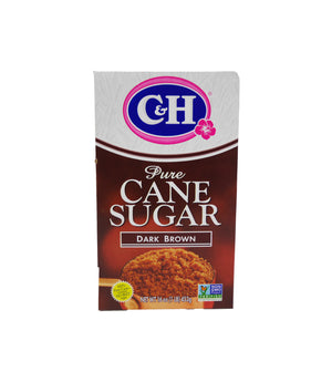 PURE CANE SUGAR, DARK BROWN, 24/1 LB