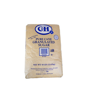 PURE CANE SUGAR, GRANULATED WHITE