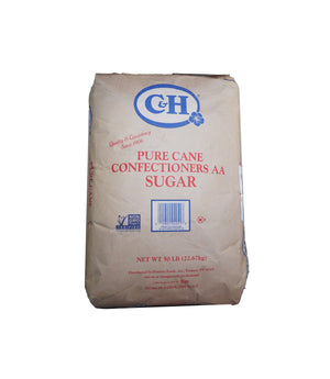PURE CANE SUGAR, CONFECTIONERS AA, 50 LB