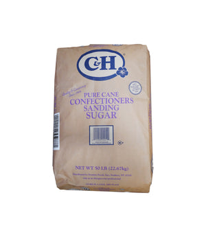 PURE CANE SUGAR, CONFECTIONERS SANDING, 50 LB