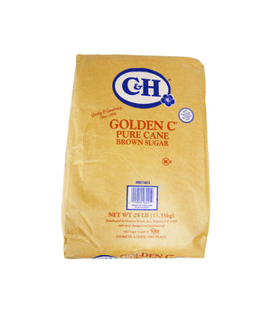 PURE CANE SUGAR, GOLDEN C, MEDIUM BROWN