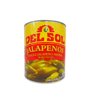 JALAPENO PEPPERS WHOLE 80-90 CT