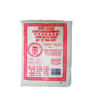WHITE RICE FLOUR, RED