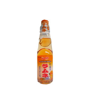 RAMUNE CARBONATED SOFT DRINK ORANGE FLAVOR