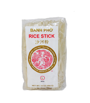 PAD THAI RICE STICK NOODLES, LARGE (5MM)