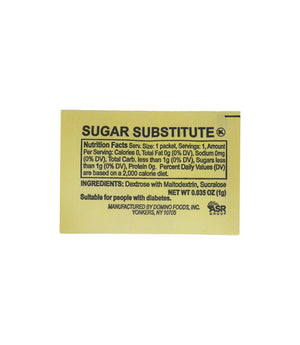 SUGAR SUBSTITUTE, YELLOW