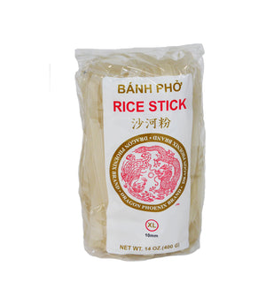 PAD THAI RICE STICK NOODLES, X-LARGE (10MM)