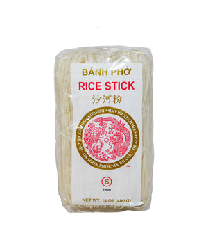 PAD THAI RICE STICK NOODLES, SMALL (1MM)