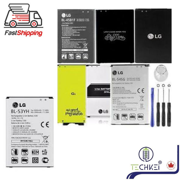 NEW Replacement Battery LG G3 G4 G5 G6 V20 High Quality Repair