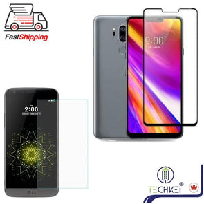 Tempered Glass Screen Protector For LG G3 G4 G5 G6 G7 and G7 ThinQ 2 Packs